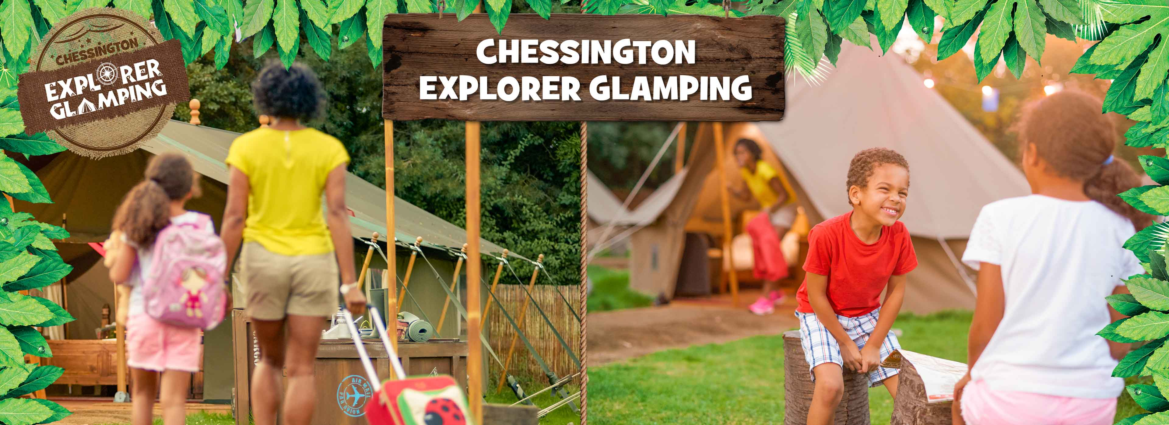 Glamping at the Chessington World of Adventures Resort