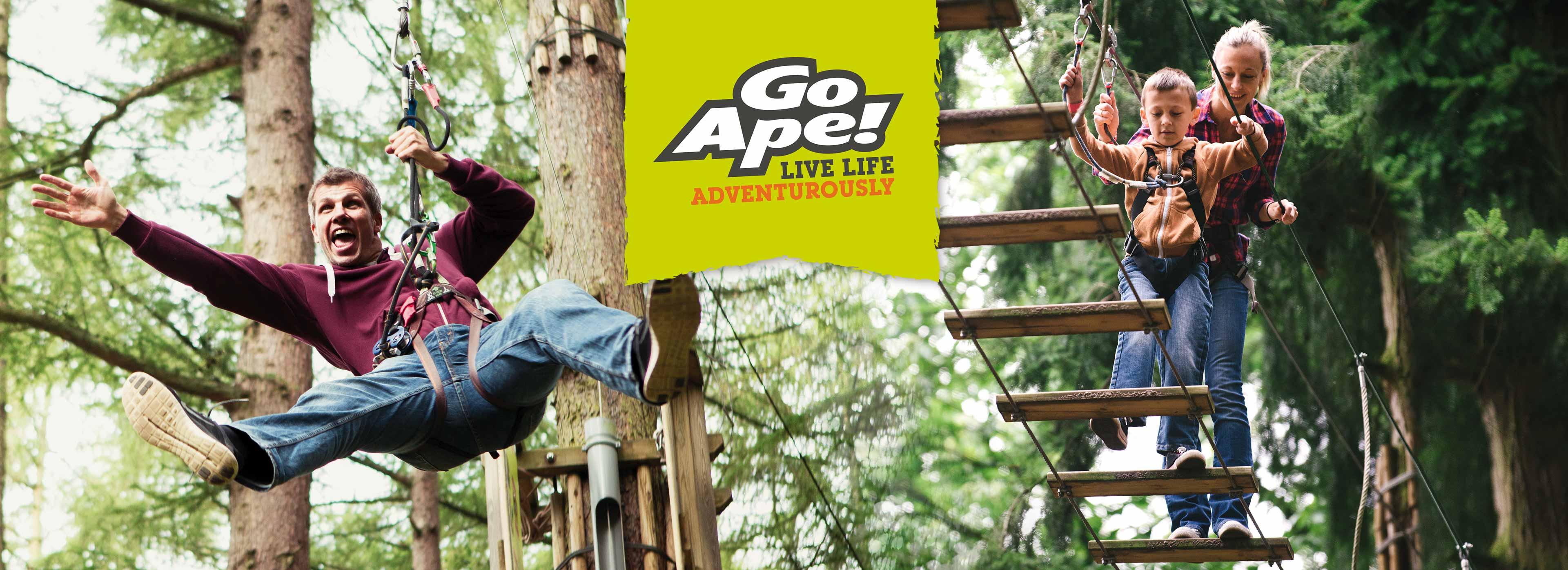 Go Ape at Chessington Resort