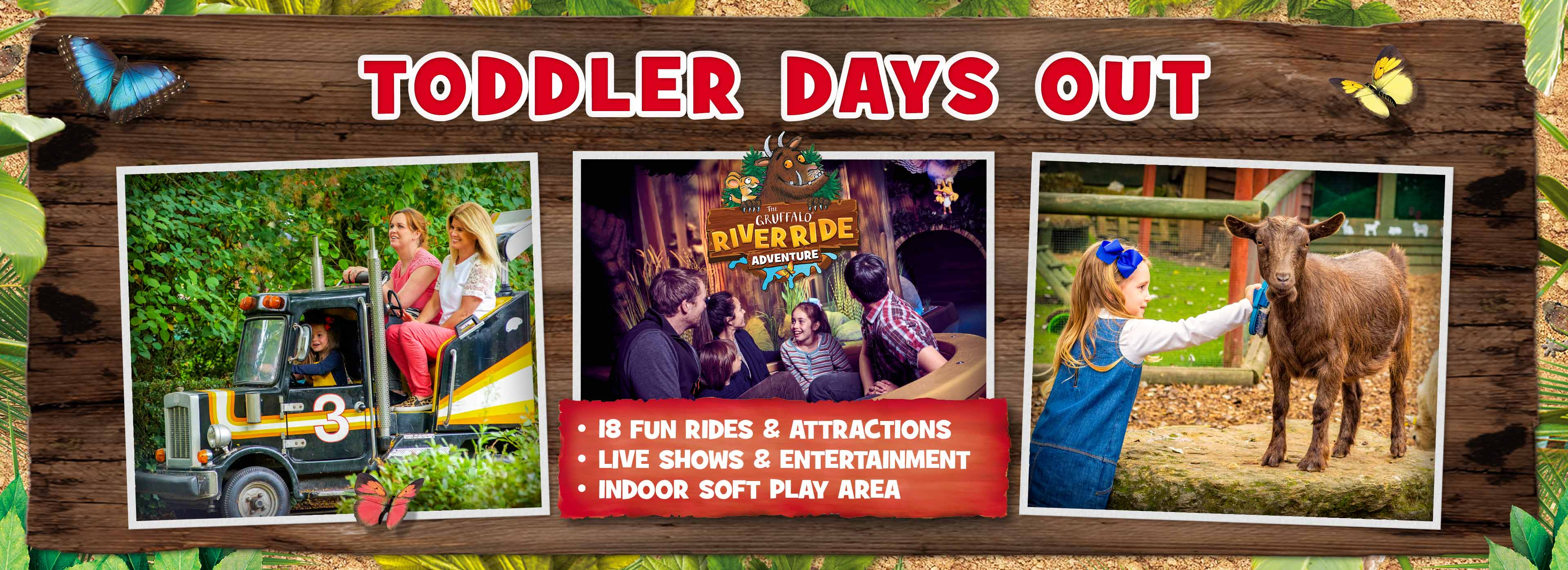 Things for toddlers to do at Chessington
