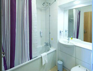LGW Premier Inn Royal Manor Hotel Bathroom