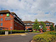 Birmingham Holiday Inn Express Hotel Outside
