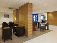 Birmingham Holiday Inn Express Hotel Reception