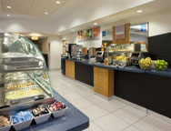 Birmingham Holiday Inn Hotel Express Breakfast Bar