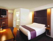 Birmingham Premier Inn double room