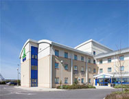 Cardiff Holiday Inn Express Hotel Outside
