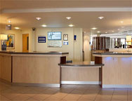 Cardiff Holiday Inn Express Hotel Reception
