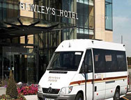 Dublin Bewleys Car Park Bus