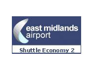 East Midlands East Midlands Shuttle Economy 2 Car Park Logo