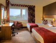 Edinburgh Hilton Deluxe Double Room