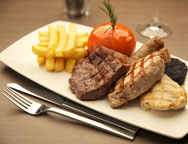 Edinburgh Hilton Mixed Grill