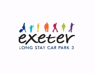 Exeter Exeter Long Stay Car Park 3 Parking Logo
