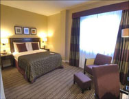 Gatwick Crowne Plaza Hotel Double Room