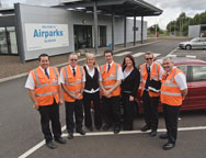 Glasgow Park And Ride Rapid Transfer By Airparks Staff