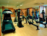 Heathrow Comfort Inn gym