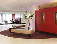 Heathrow Ibis Hotel Lobby