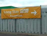 Heathrow Long Stay Plus T5 Sign