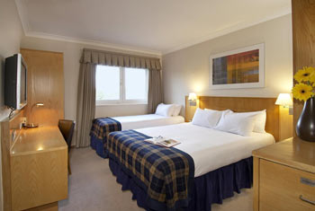 Book a room at the Stansted Hilton