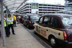 Book a taxi transfer to the airport from your hotel
