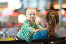 Travelling with a baby from Gatwick airport