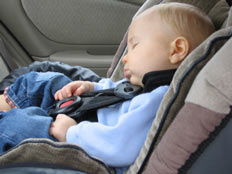 Tips for driving your baby to the airport