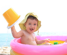 Holiday insurance with a baby