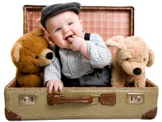 Before you travel with a baby