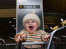 Gatwick airport lounges for babies