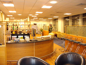 Gatwick airport lounge