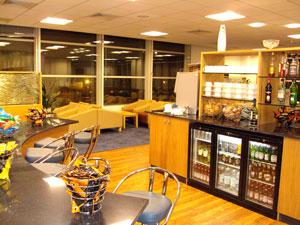 Gatwick airport lounge