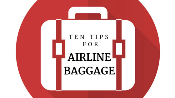 Airline baggage tips