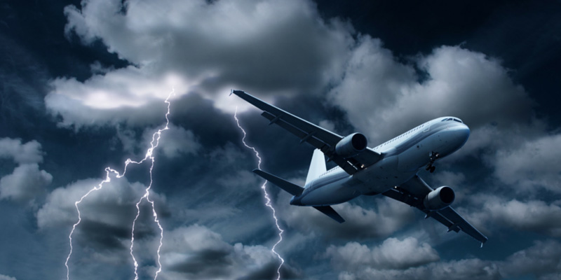 what causes airplane turbulence