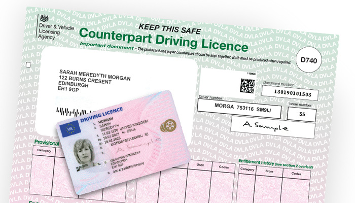 Hiring a Car Abroad with a DVLA Code