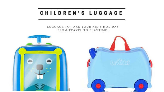 Children's Luggage: Is the Trunki Suitcase the best?