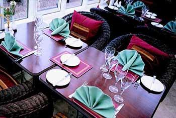 Enjoy dinner at your East Midlands hotel