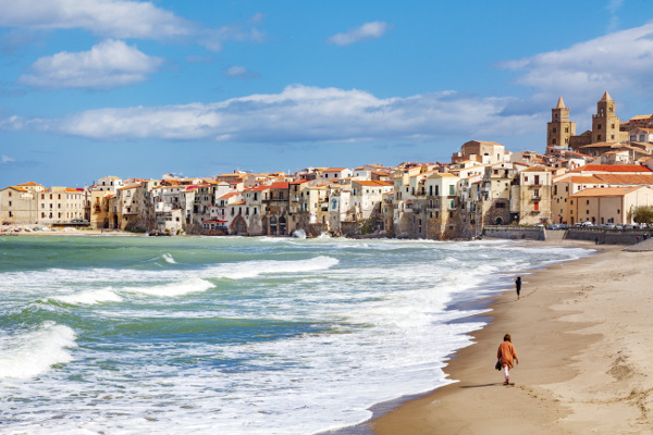 Cefalù bietet nicht nur einen schönen Strand