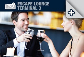 Escape Lounge at Manchester Airport Terminal 3