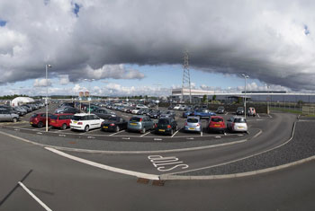Glasgow airport parking