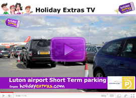 Luton On-Airport Short Stay Parking Video