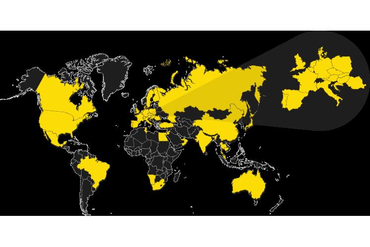 Produkte weltweit