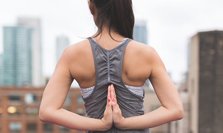 Yoga im Sitzen