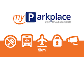 MyParkplace Parken Flughafen Tegel Berlin