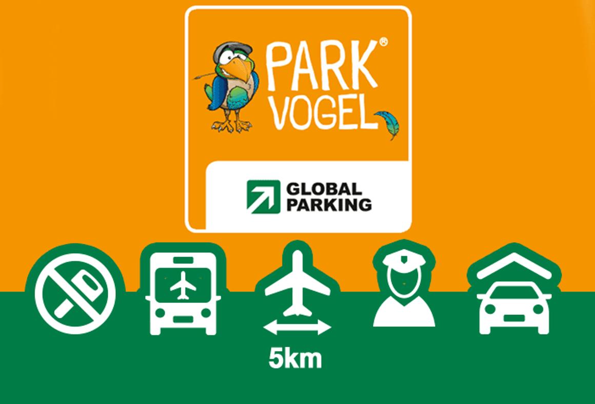 Logo vom Parkvogel Parkhaus in Muenchen
