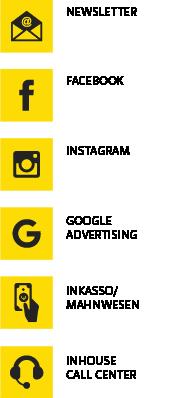 Icons Vertriebsleistungen