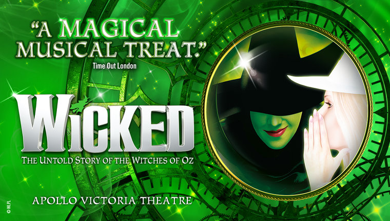 Wicked The Musical Poster