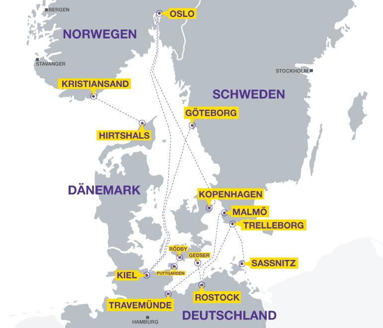 Karte Norwegen Dänemark.Fähre Norwegen Fährtickets Bei Holiday Extras