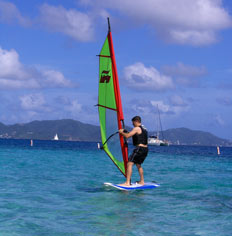 Windsurfing with Active Adventures
