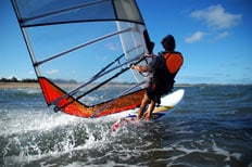 Meet and Greet airport parking with HolidayExtras.com will prove handy for those travelling with windsurfing equipment
