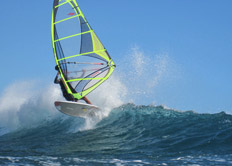 Don't be late for your windsurfing holiday by following our directions to the airport
