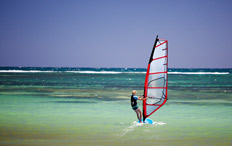 Booking off-airport parking at Gatwick will ensure your windsurfing holiday budget stretches further