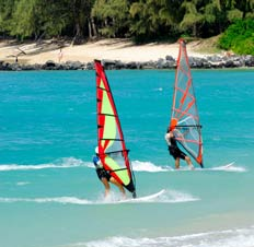 Booking car hire with HolidayExtras.com makes transporting your windsurfing equipment simple and hassle-free